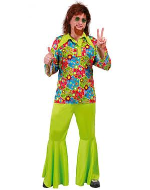 Мъжки цветен костюм на хипи