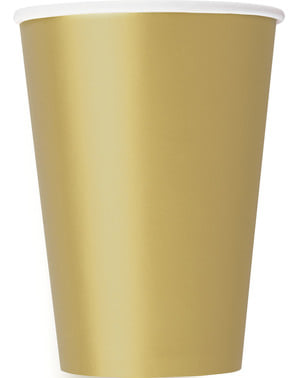 10 big gold cups - Basic Colours Line