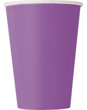 10 vasos color morado - Línea Colores Básicos