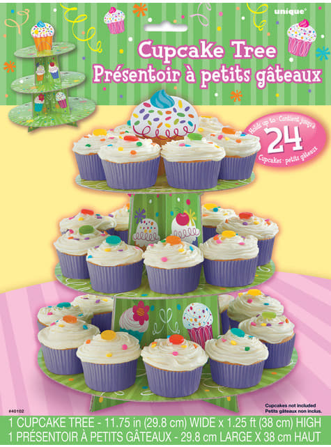 Base para cupcakes - Cupcake Party - para tus fiestas