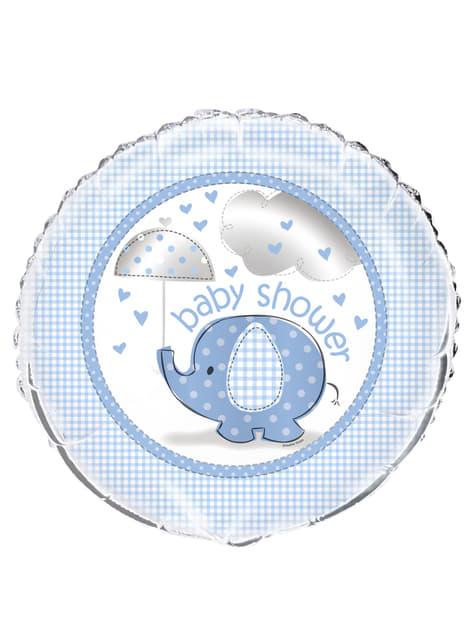 Balão de Foil azul - Umbrellaphants Blue