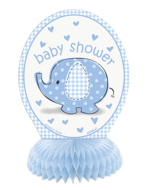 Tischdeko Set blau 4-teilig - Umbrellaphants Blue
