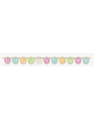 Girlander - Pastell Baby Shower