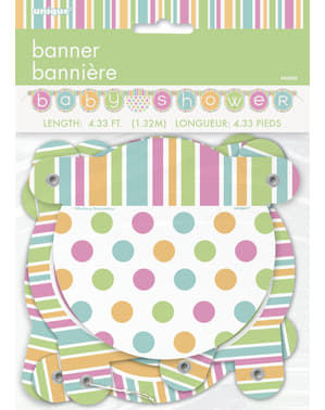 Garland - Shower Baby Pastel