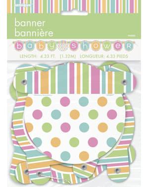 Guirlande - Pastel Baby Shower