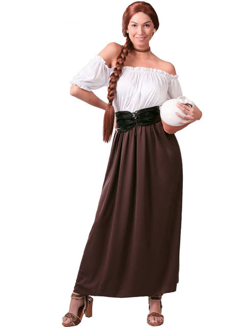 Bauersfrau Mittelalter Kostüm