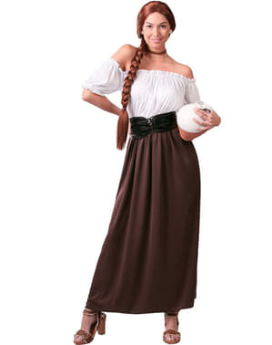 Kostium dawna kelnerka
