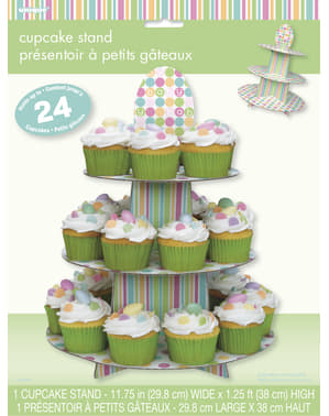 Cupcake base - Pastel Baby Shower