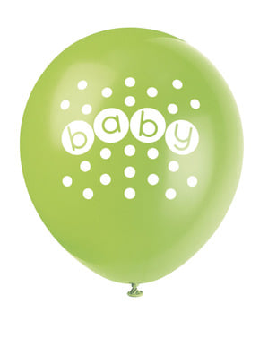 8 baloane (30 cm) - Pastel Baby Shower