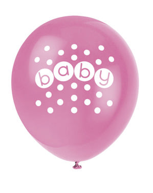 8 balõe (30 cm) - Pastel Baby Shower