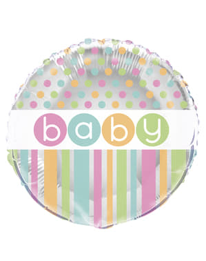 Palloncino Foil - Pastel Baby Shower