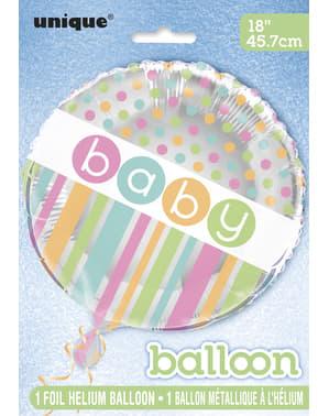 Folyo Balon - Pastel Bebek Duşu