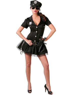 Amerikansk Politidame Kostyme