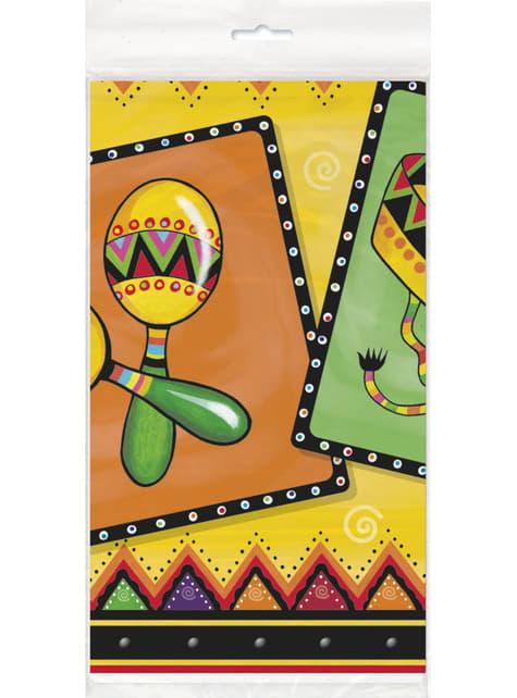 Toalha de mesa com detalhes mexicanos - Fiestivity