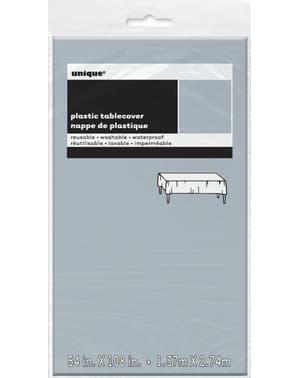 Duży srebrny obrus - Linia kolorów podstawowych