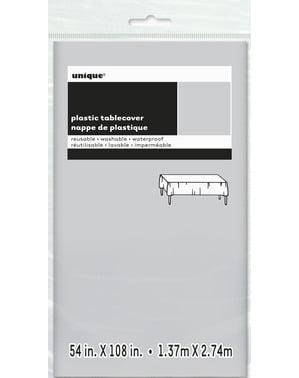 Stor sølv bordduk - Grunnleggende Farger Kolleksjon