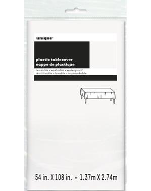 Große Tischdecke weiß - Basic-Farben Kollektion