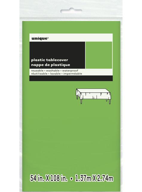 Mantel verde lima grande - Línea Colores Básicos