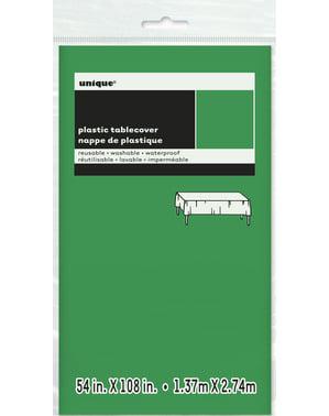 Mantel verde esmeralda grande - Línea Colores Básicos