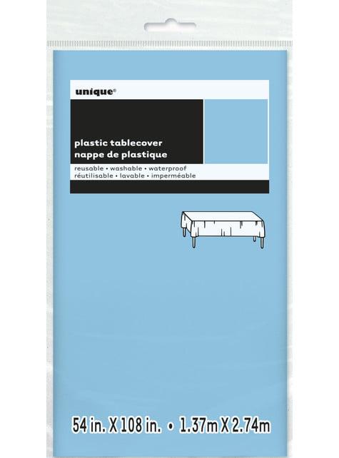 Mantel azul claro grande - Línea Colores Básicos