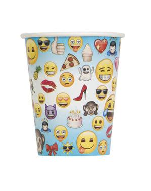 8 gobelets super émoticône - Emoji