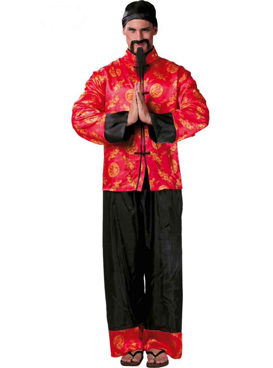 Disfraz de chino mandarín. Have Fun!  402c1d32787