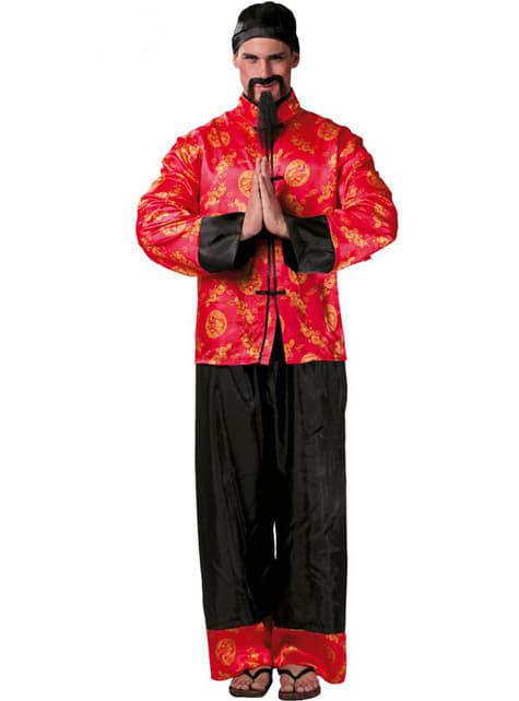 Déguisement de chinois mandarin