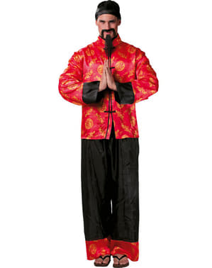 Fato de chinês mandarim