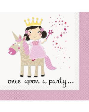16 Pink Unicorn napkin (33x33 cm) - Magical Unicorn