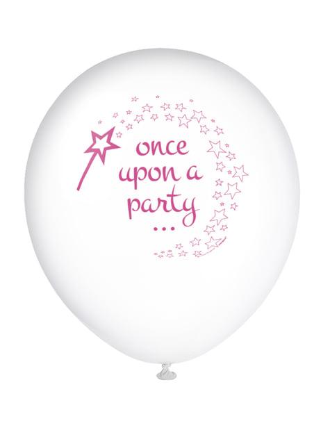 8 globos de Unicornio rosa (30 cm) - Magical Unicorn - para tus fiestas
