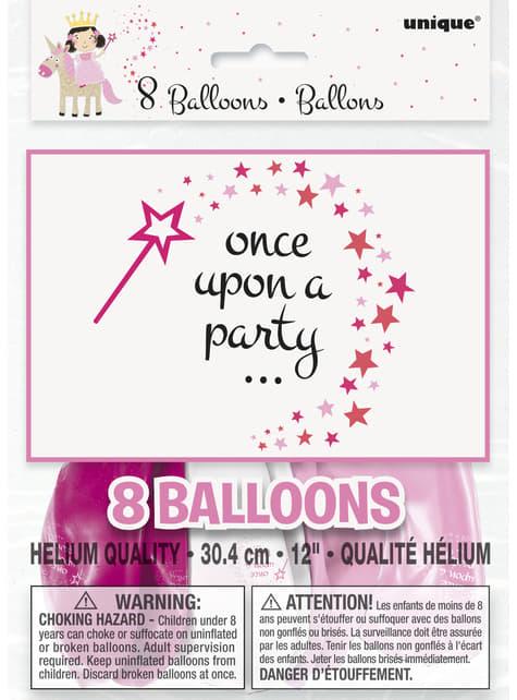 8 globos de Unicornio rosa (30 cm) - Magical Unicorn - barato