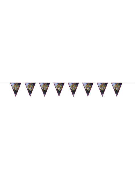 Kit de decoração de festa Casas de Hogwarts - Harry Potter