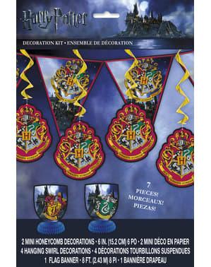 Harry Potter party dekorációs készlet - Hogwarts Houses