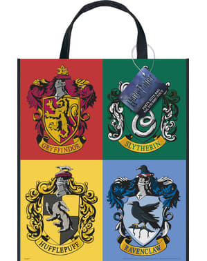 Pungă Casele Hogwarts - Harry Potter