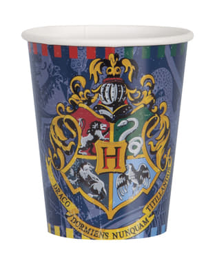 Hogwarts Häuser Becher Set 8-teilig - Harry Potter