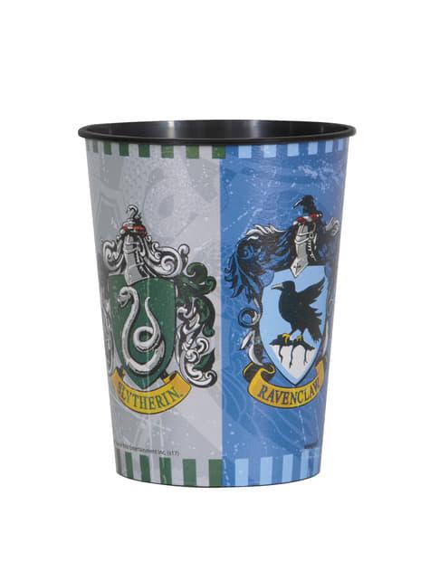 Copo de plástico duro Casas de Hogwarts - Harry Potter