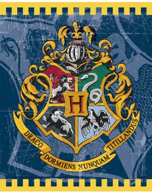 8 sacos de presente Casas de Hogwarts - Harry Potter