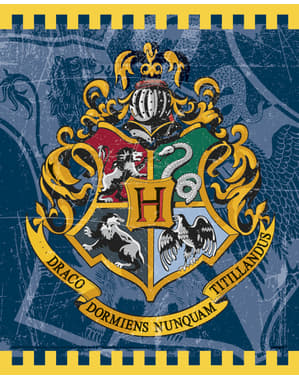 8 Hogwarts House gift bags - Harry Potter