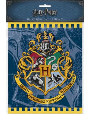Sett med 8 Galtvort Hus gaveposer - Harry Potter