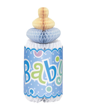 Pusat botol bayi biru - Pancuran Bayi