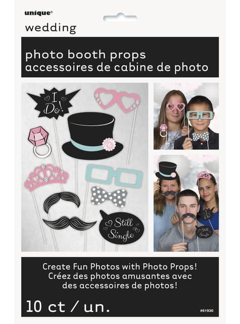10 accessoires Photo booth pour mariage