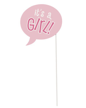 10 accessoires para Photo booth Baby Shower