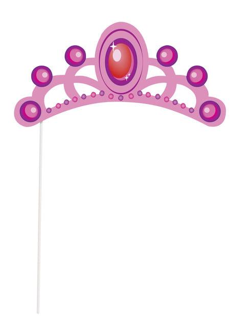 10 kpl photocall kylttiä - Prinsessa