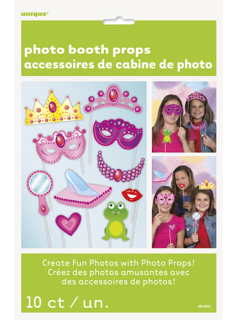 10 accessori per photocall Princess - Princess
