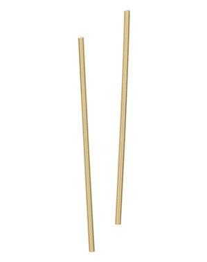 10 palhinhas douradas - Linha Cores Básicas