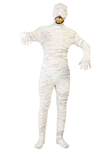 Glimlachende mummie kostuum