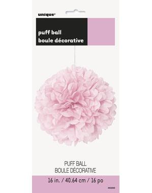 Pompón decorativo rosa claro - Línea Colores Básicos