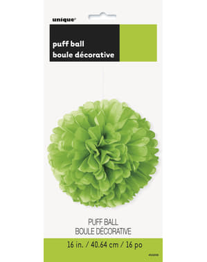Decorative Neon Green Pom-Pom - Basic Colours Line