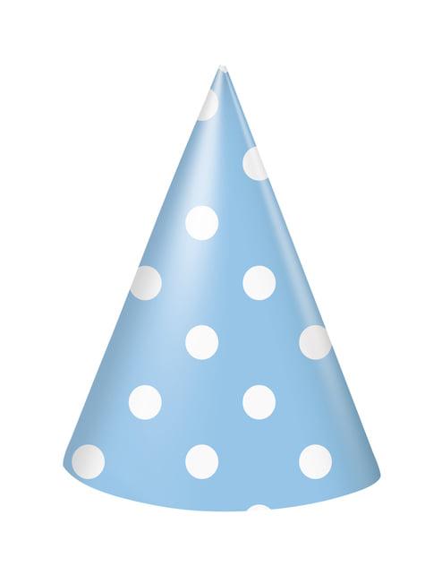 Set de 1º cumpleaños azul y blanco - comprar