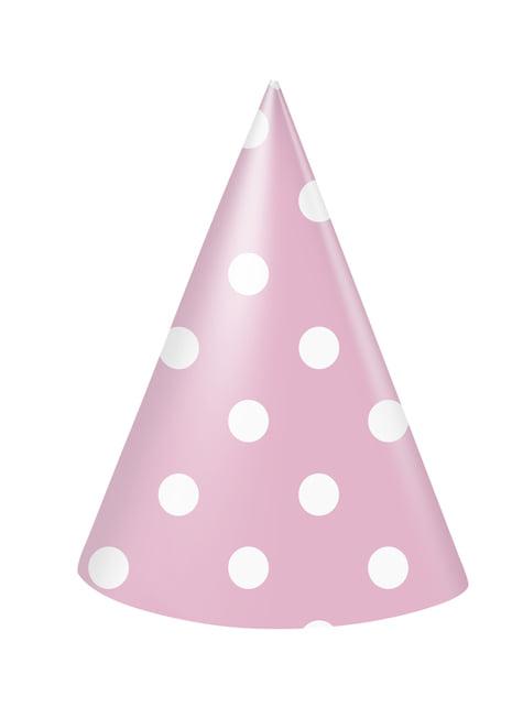 Set de 1º cumpleaños rosa y blanco - comprar